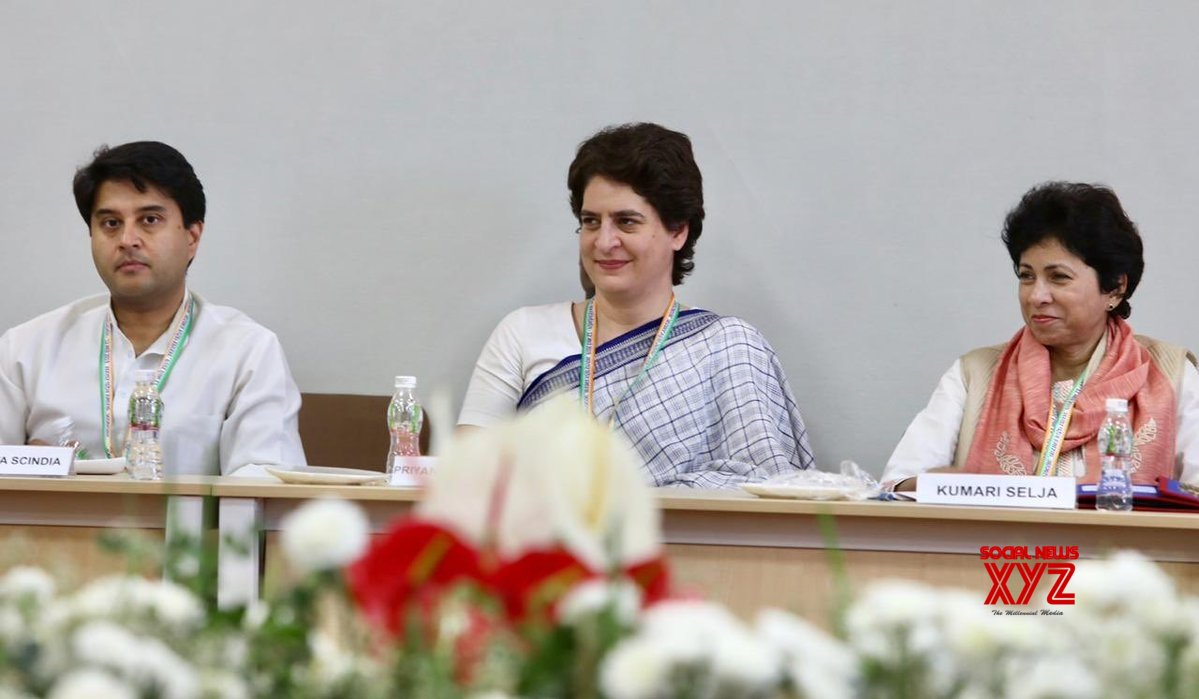 Priyanka, Scindia to hold poll result review meets