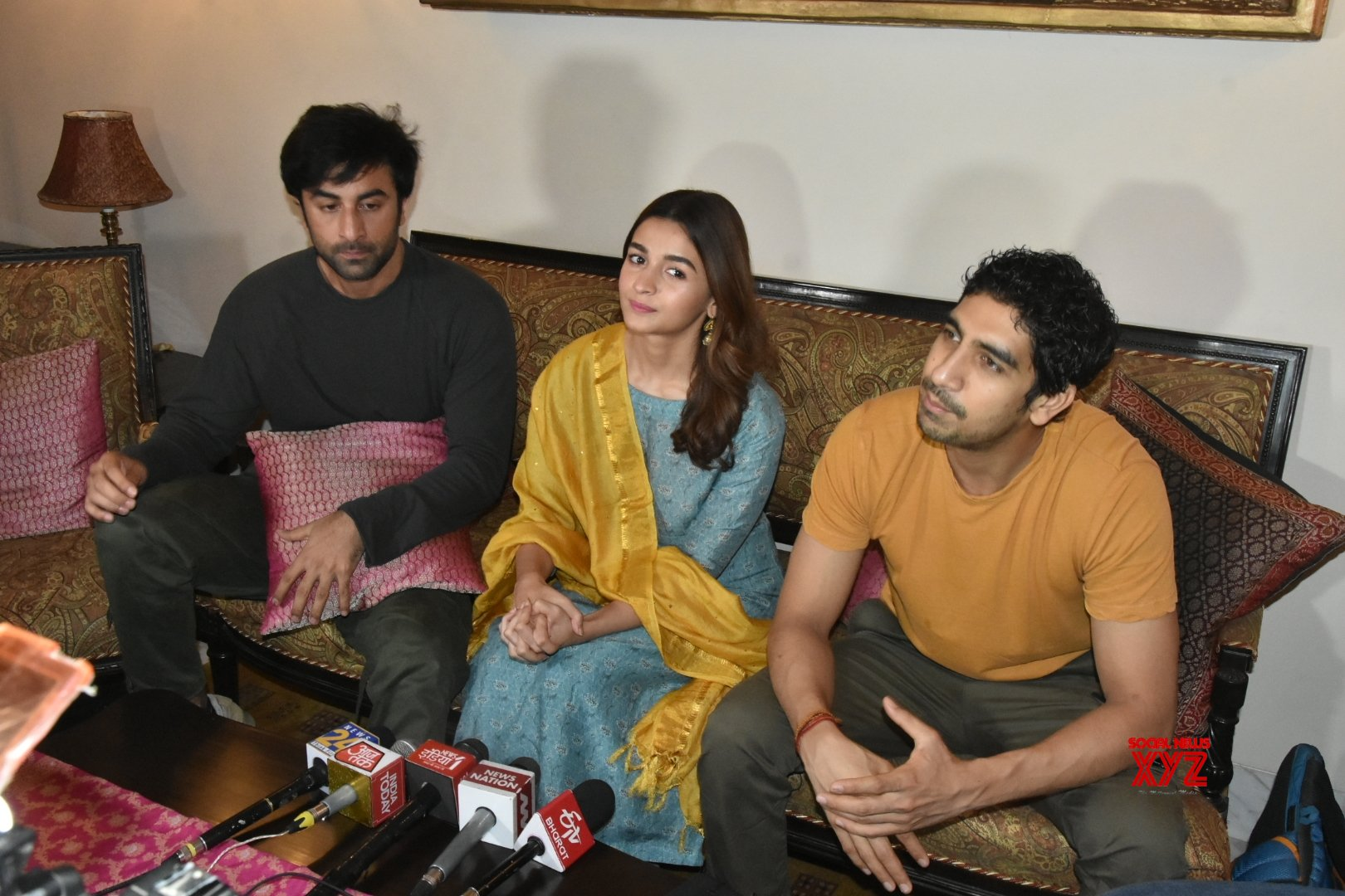 "Varanasi: Star cast of ""Brahmastra"" holds a press conference #Gallery"