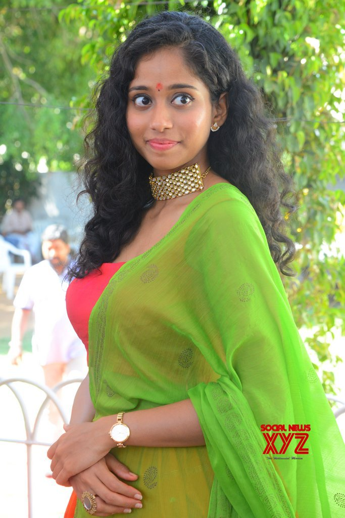 Actress Krisha Kurup Stills From Aadhi Pinisetty's Clap Movie Opening