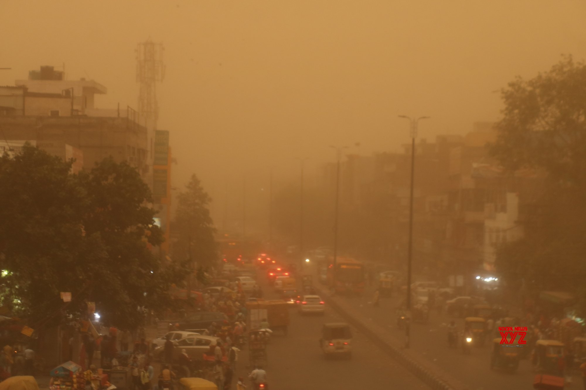Dust storm: Operations halted at IGI airport