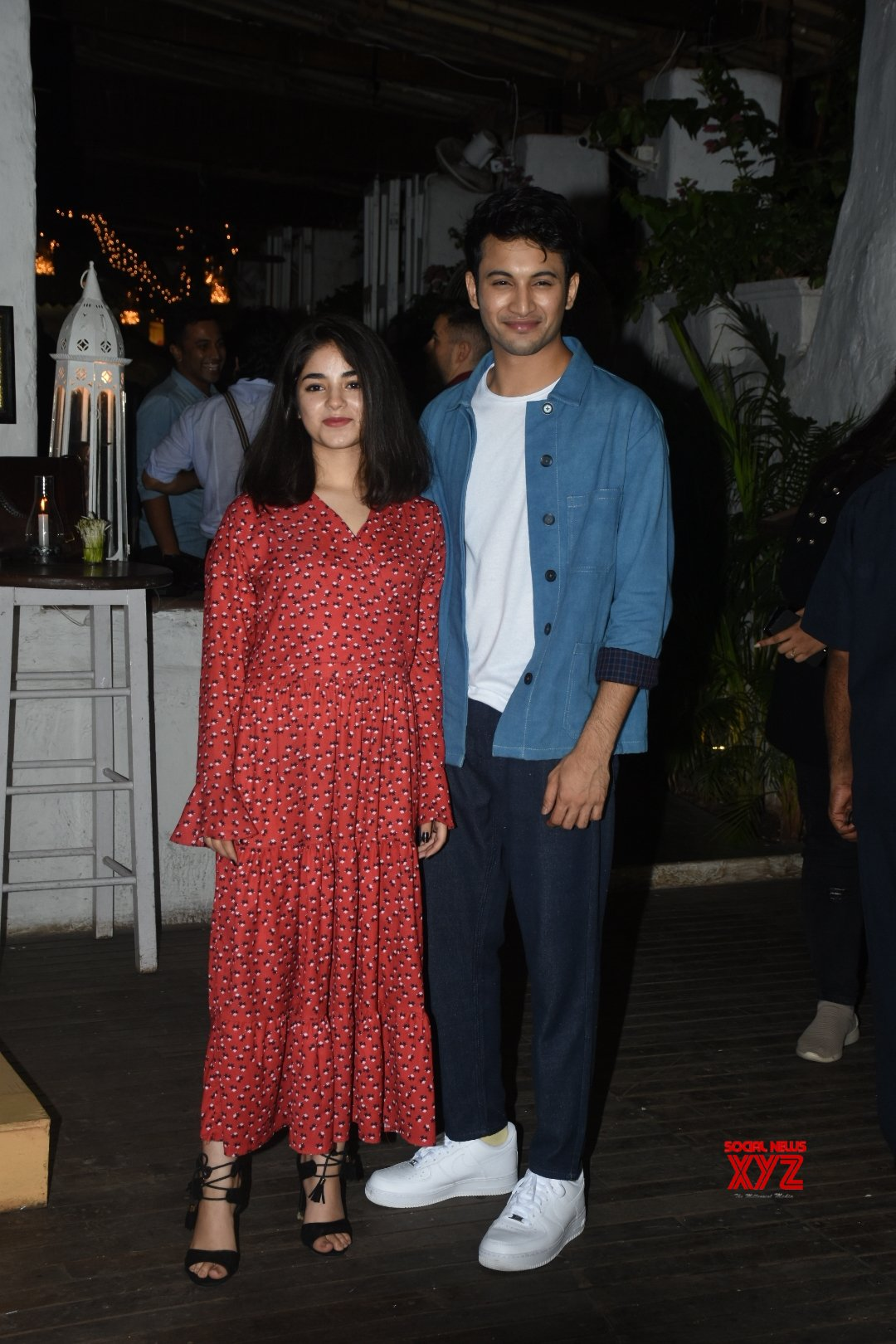 "Mumbai: Film ""The Sky Is Pink"" wrap - up party - Priyanka Chopra, Zaira Wasim, Rohit Saraf, Shonali Bose #Gallery"