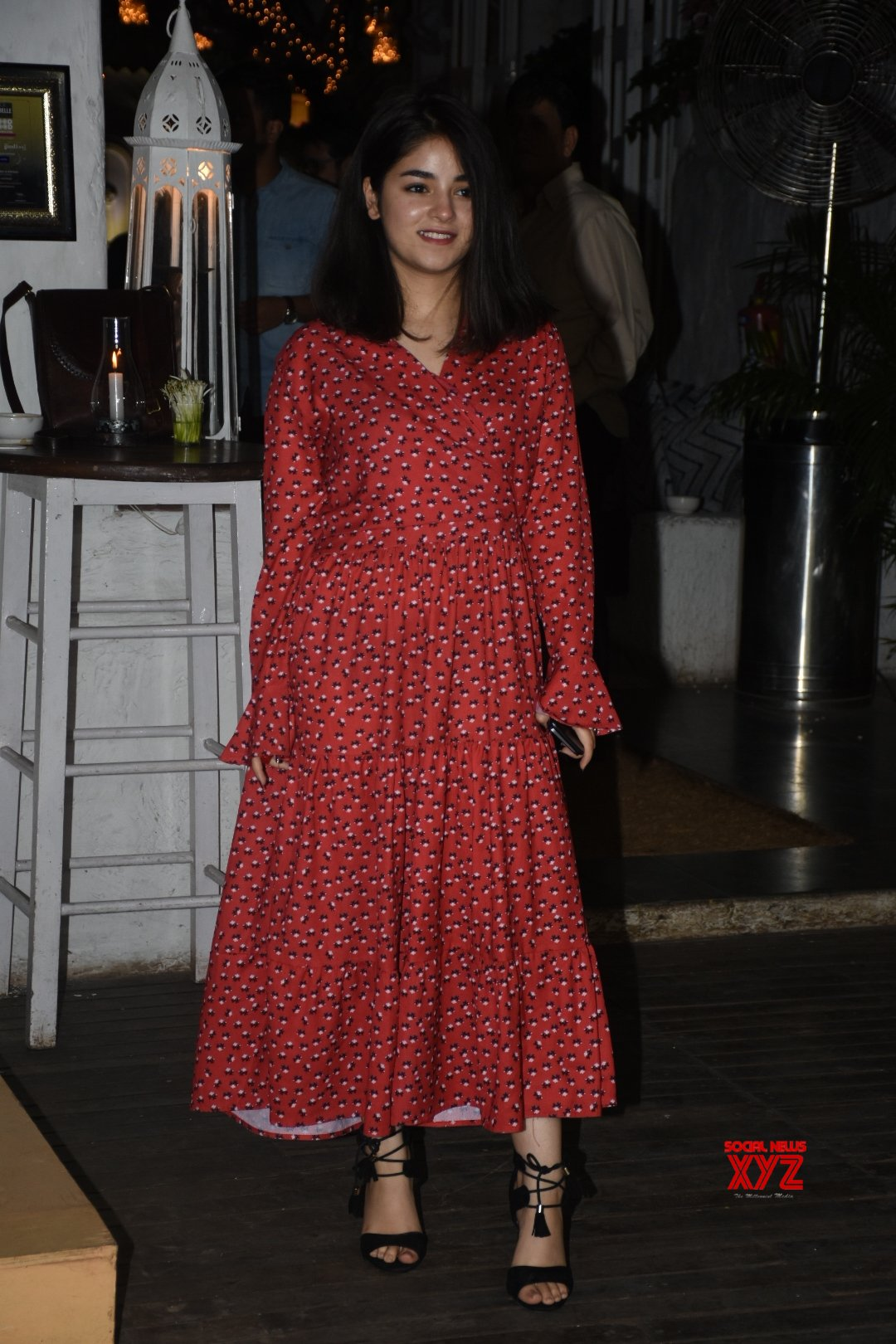 "Mumbai: Film ""The Sky Is Pink"" wrap - up party - Zaira Wasim, Rohit Saraf, Shonali Bose #Gallery"