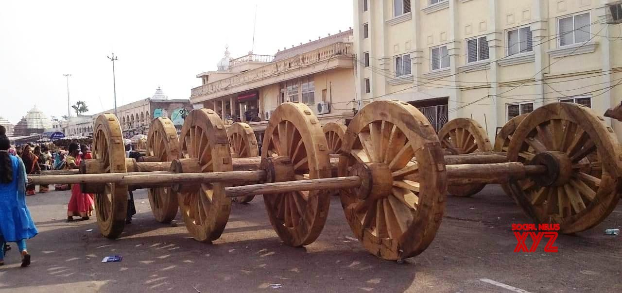 Puri: Jagannath Rath Yatra preparations underway #Gallery