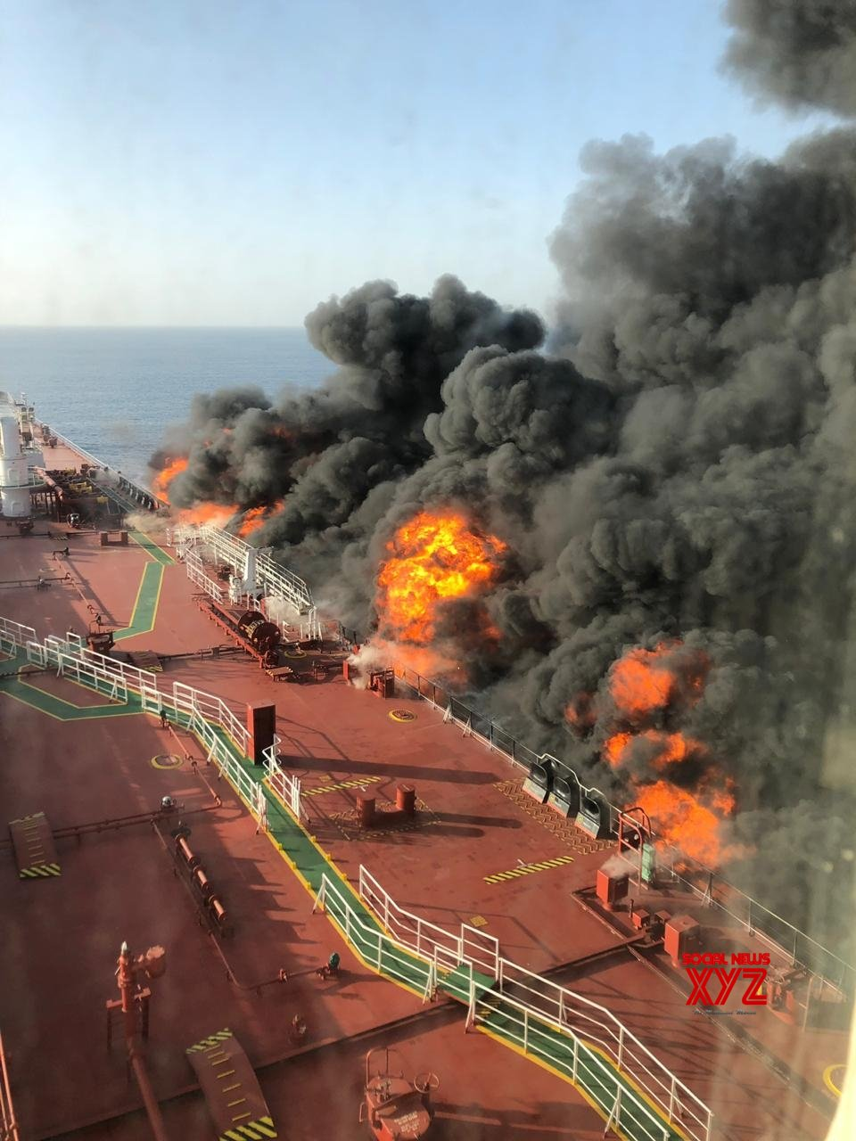 Doha: 2 oil tankers hit in Gulf of Oman, all crew evacuated #Gallery