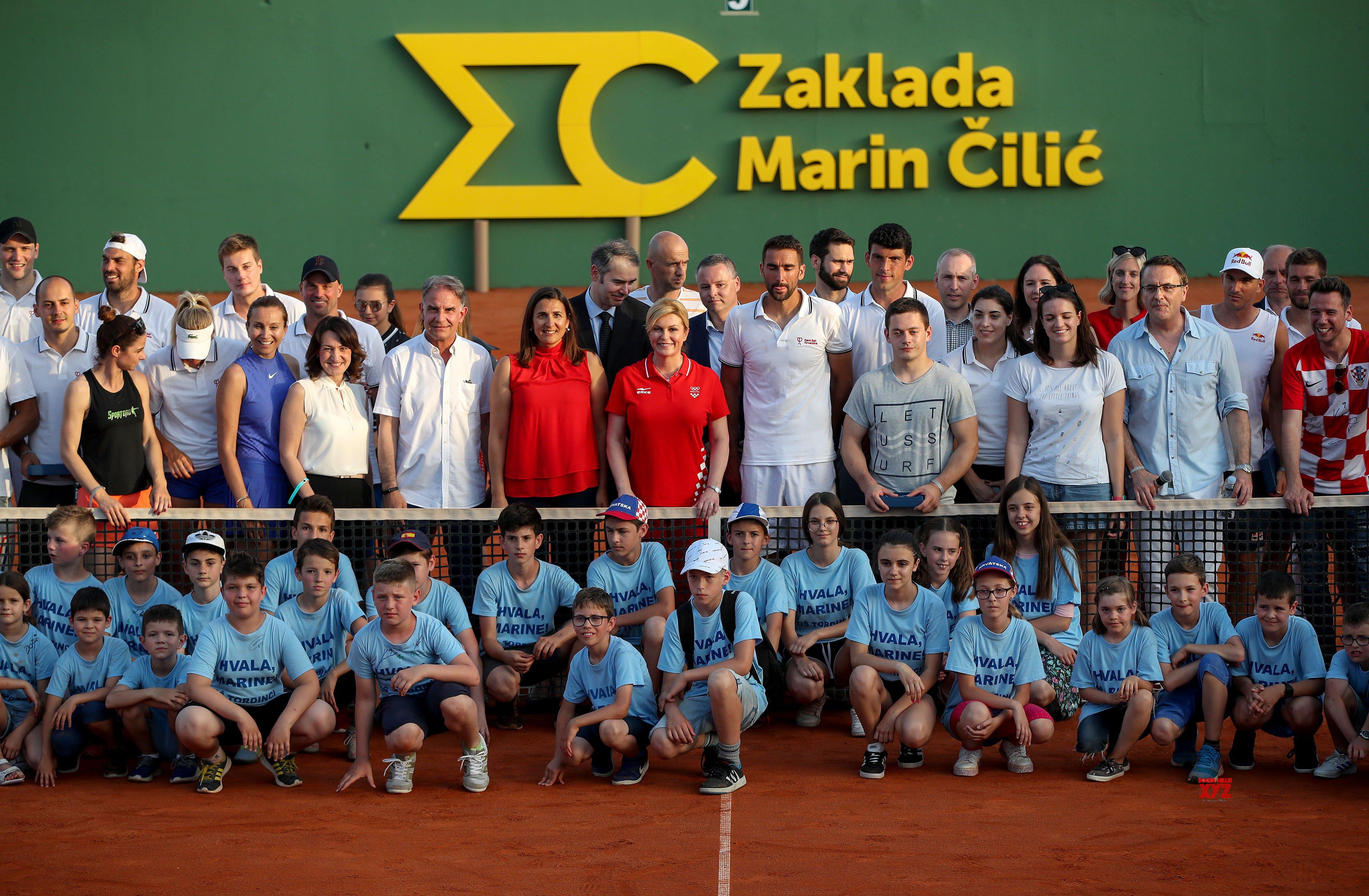 CROATIA - ZAGREB - HUMANITARIAN SPORTS EVENT - GEM SET CROATIA #Gallery