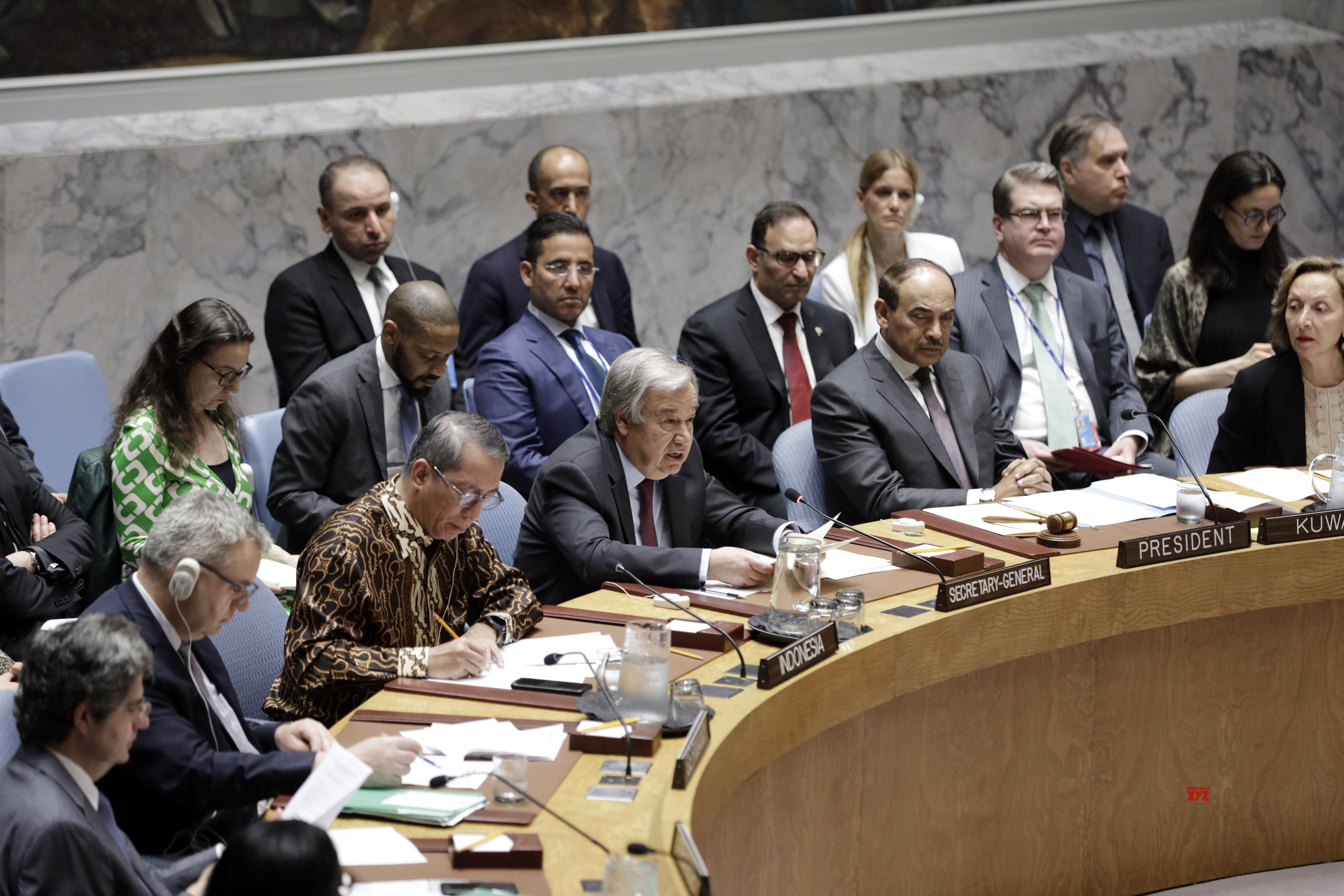 UN - SECURITY COUNCIL - MEETING - CONFLICT PREVENTION AND MEDITATION #Gallery