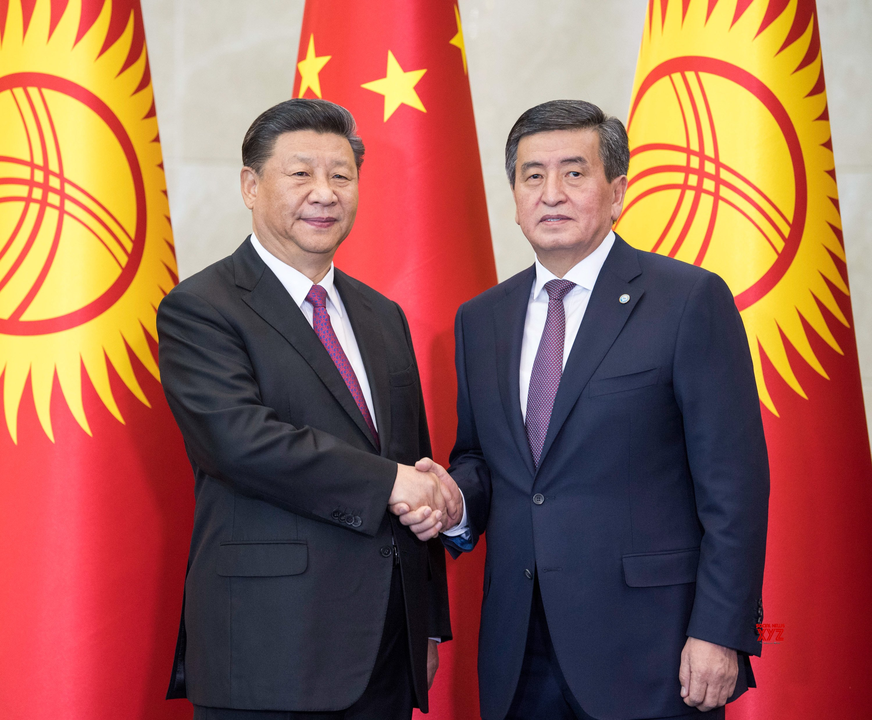 KYRGYZSTAN - BISHKEK - CHINA - PRESIDENTS - TALKS #Gallery