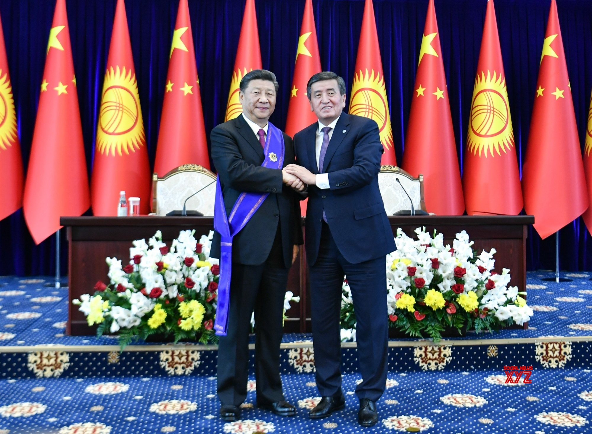 KYRGYZSTAN - BISHKEK - CHINA - XI JINPING - NATIONAL PRIZE #Gallery