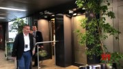 Knox back in Italy for first time since acquittal  (Video)