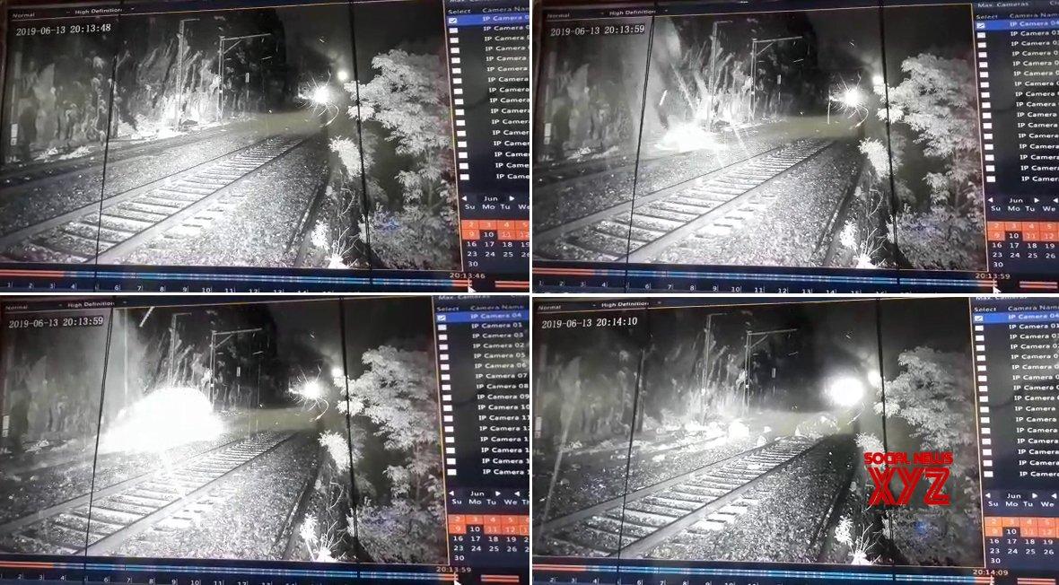 CCTVs in Maharashtra's Monkey Hill avert railway accident