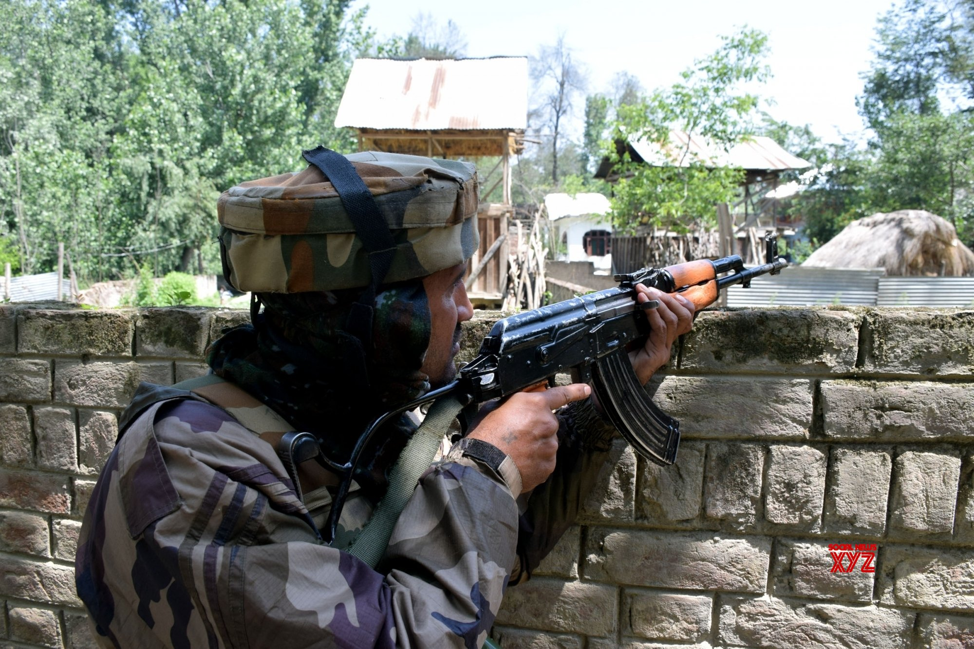 Pulwama: Gunfight in J&K's Pulwama #Gallery