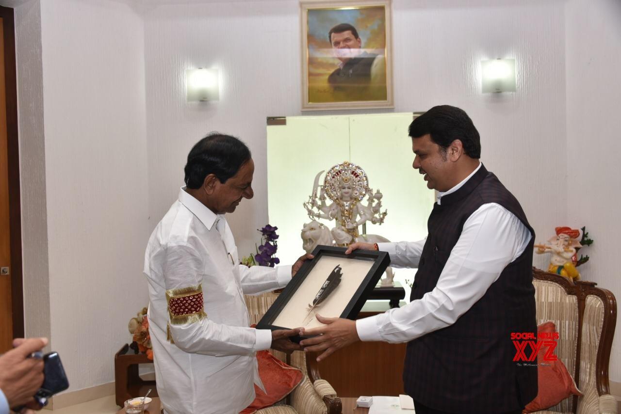 Mumbai: KCR meets Devendra Fadnavis #Gallery