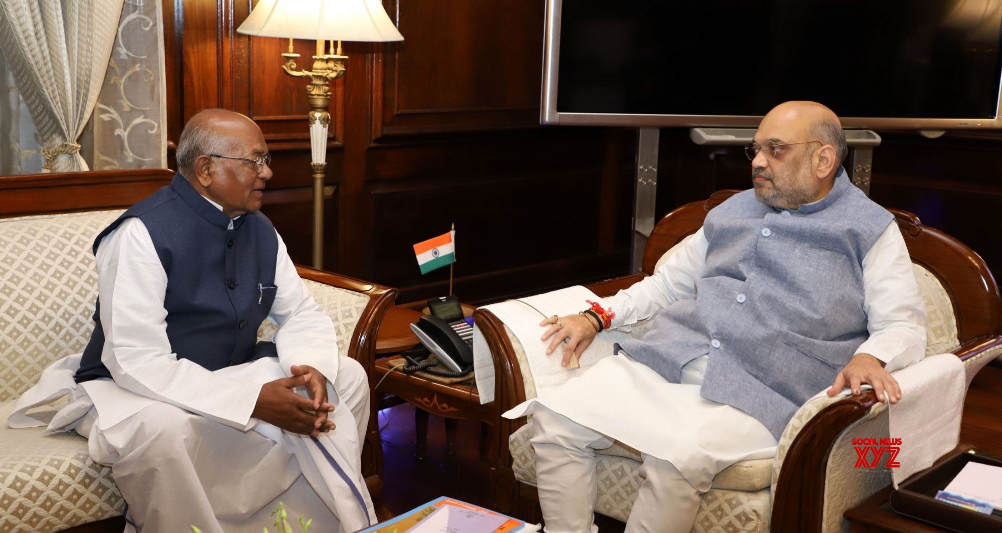 Assam CM meets Shah and Rajnath, discusses state's issues