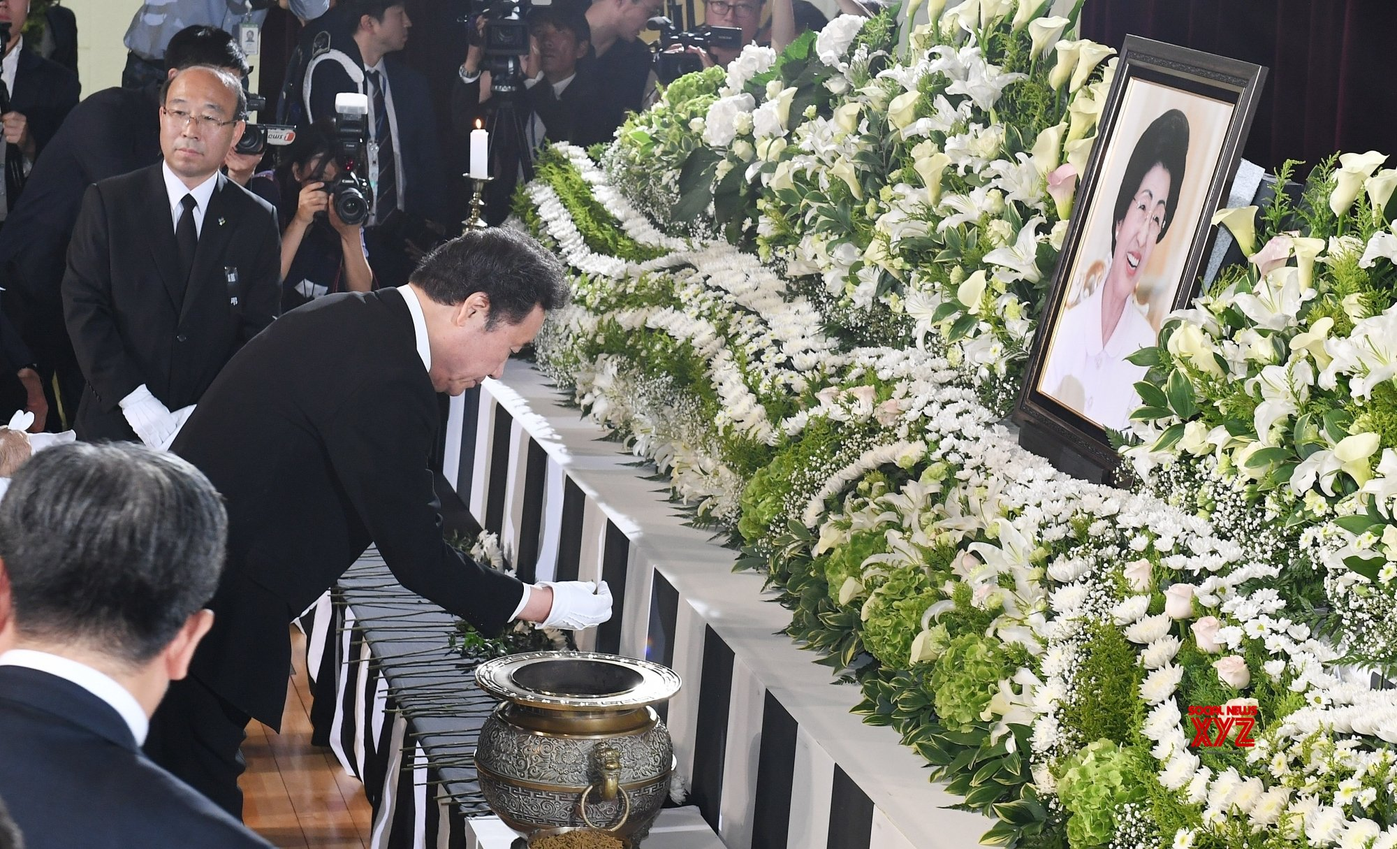 Seoul: Funeral for former first lady #Gallery