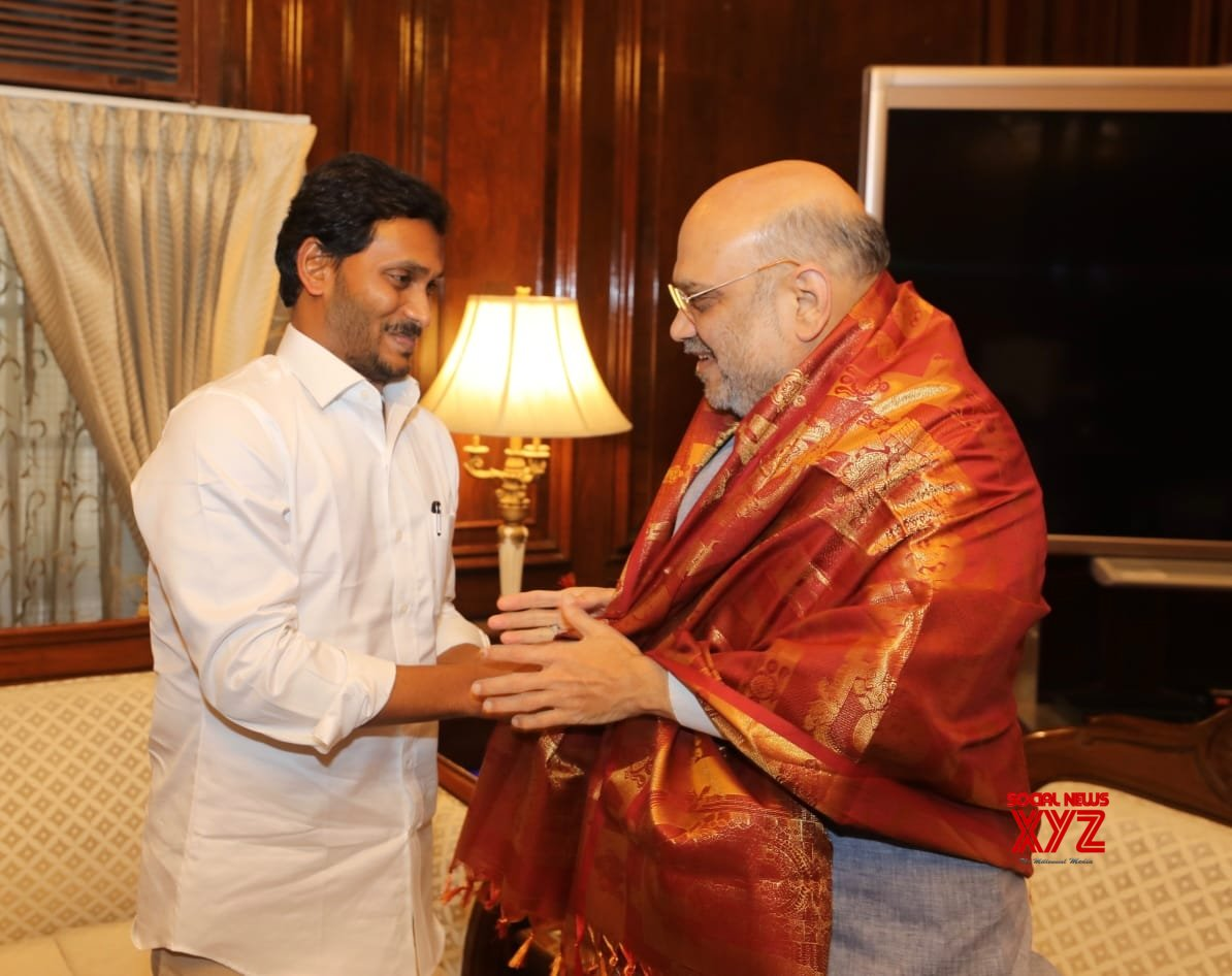 New Delhi: Y.S. Jagan Mohan Reddy meets Amit Shah (Batch - 2) #Gallery