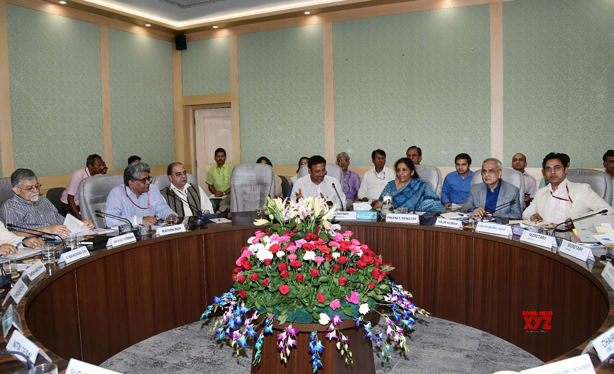 New Delhi: Nirmala Sitharaman chairs Pre - Budget consultations with Economists #Gallery