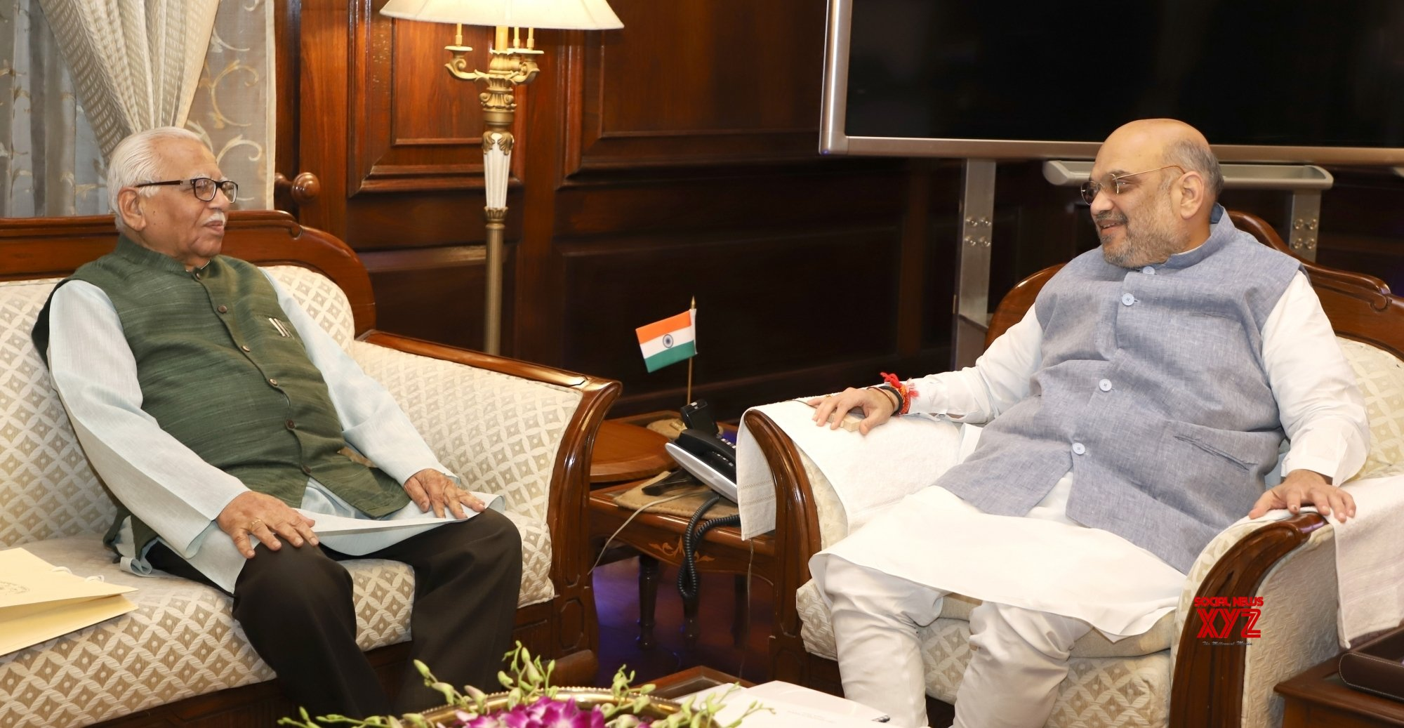 New Delhi: UP Governor meets Amit Shah #Gallery