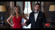 Aniston to Sandler before kissing: Oil up the beard  (Video)