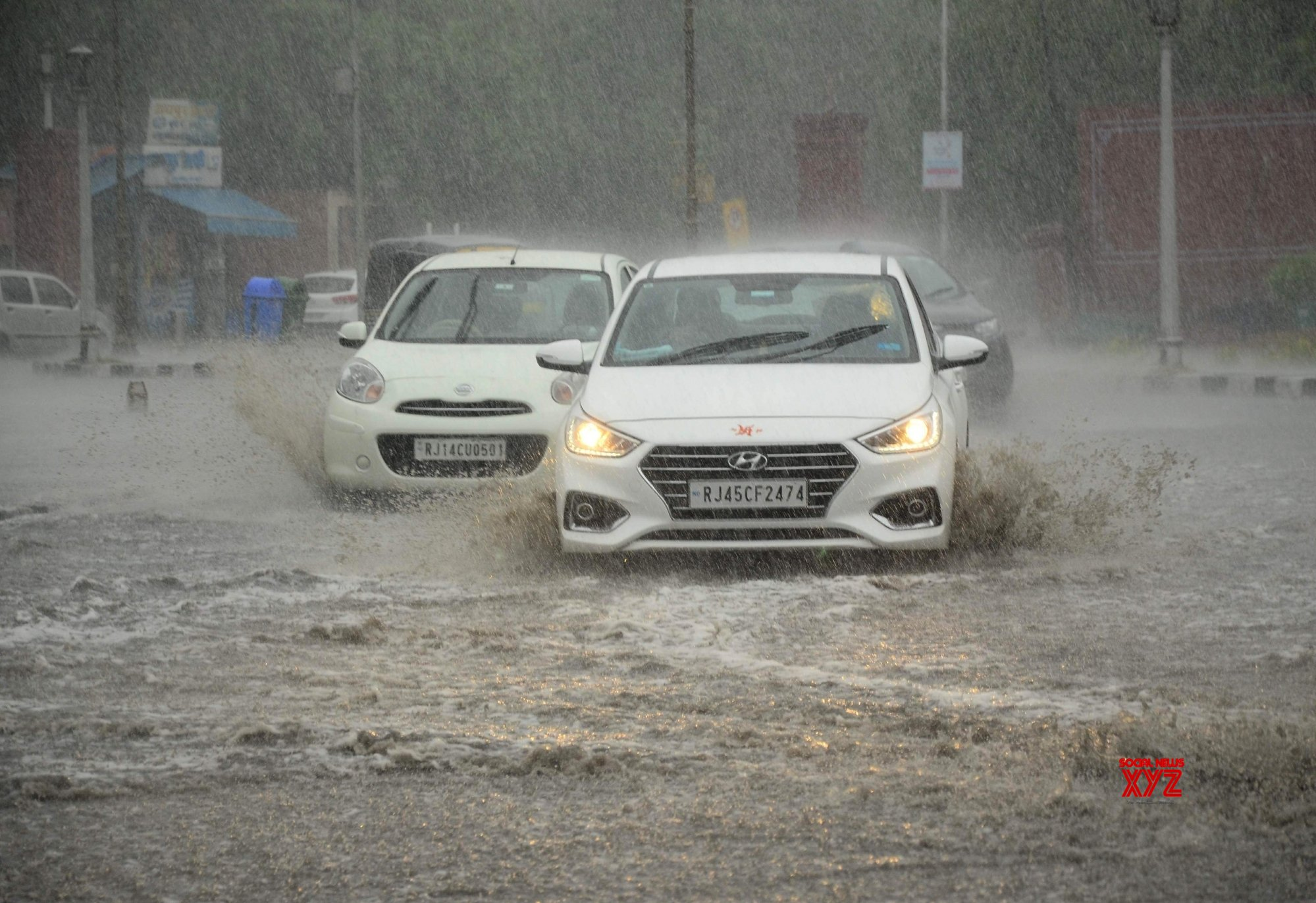 Jaipur: Rains #Gallery