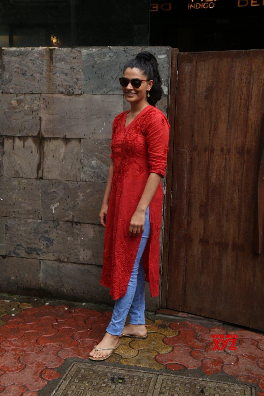 Mumbai: Saiyami Kher seen at Bandra #Gallery