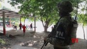 More Mexican troops arrive at Guatemalan border  (Video)