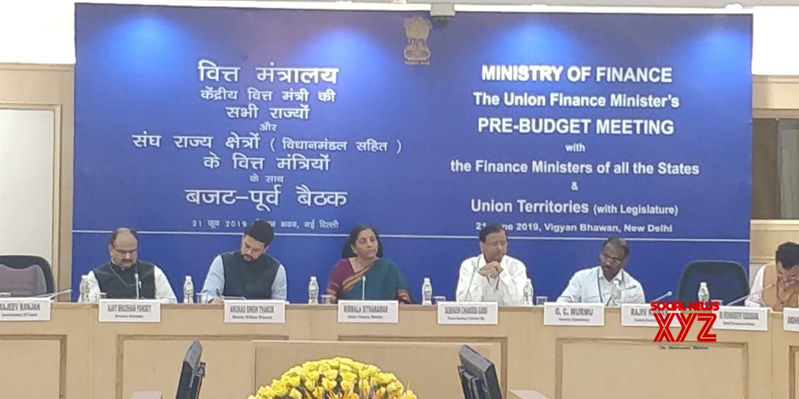 Sitharaman urges states to help achieve economic growth goals set by Centre