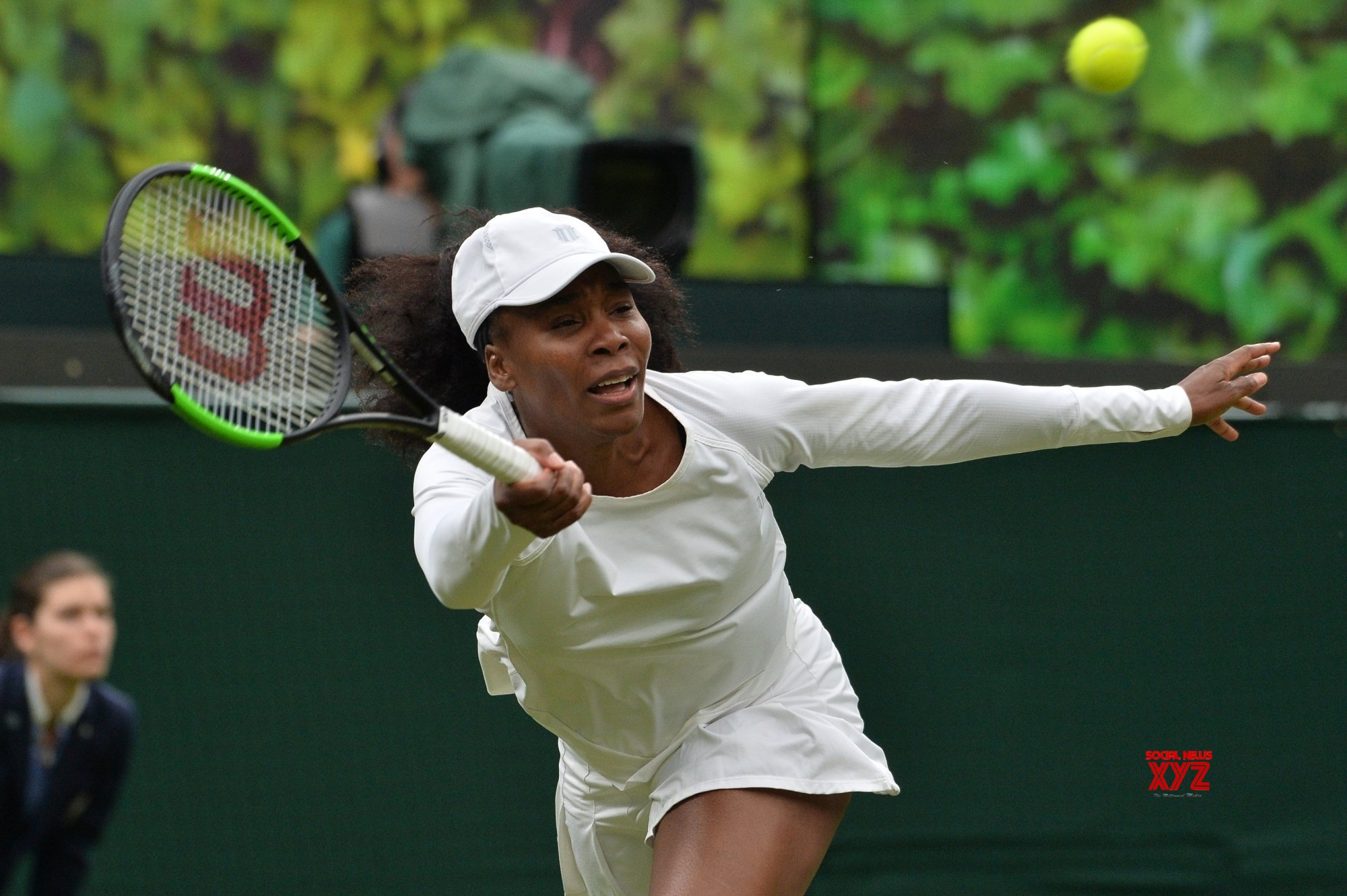 Venus knocked out of Wimbledon by 15-year-old