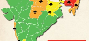 All India weather watch. (IANS Infographics)