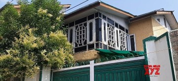 The house of Asiya Andrabi, chief of women's separatist group, 'Dukhtaran-e-Milat' that has been attached by the National Investigation Agency (NIA) in Srinagar on July 10, 2019. The order of attachment said the property represents proceeds of terrorism and has been used for furtherance of terrorist activities. Andrabi and two of her close associates are in NIA custody in connection with the terror funding case being investigated by the agency. (Photo: IANS)