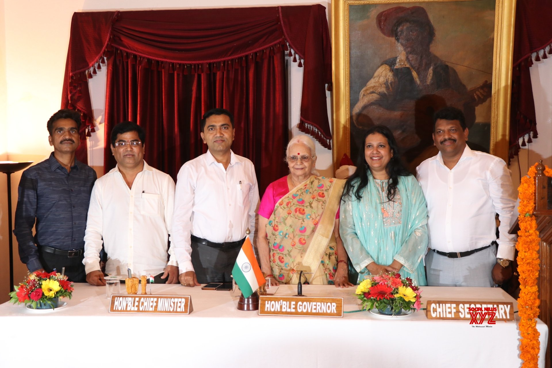 Four new ministers inducted in Goa Cabinet