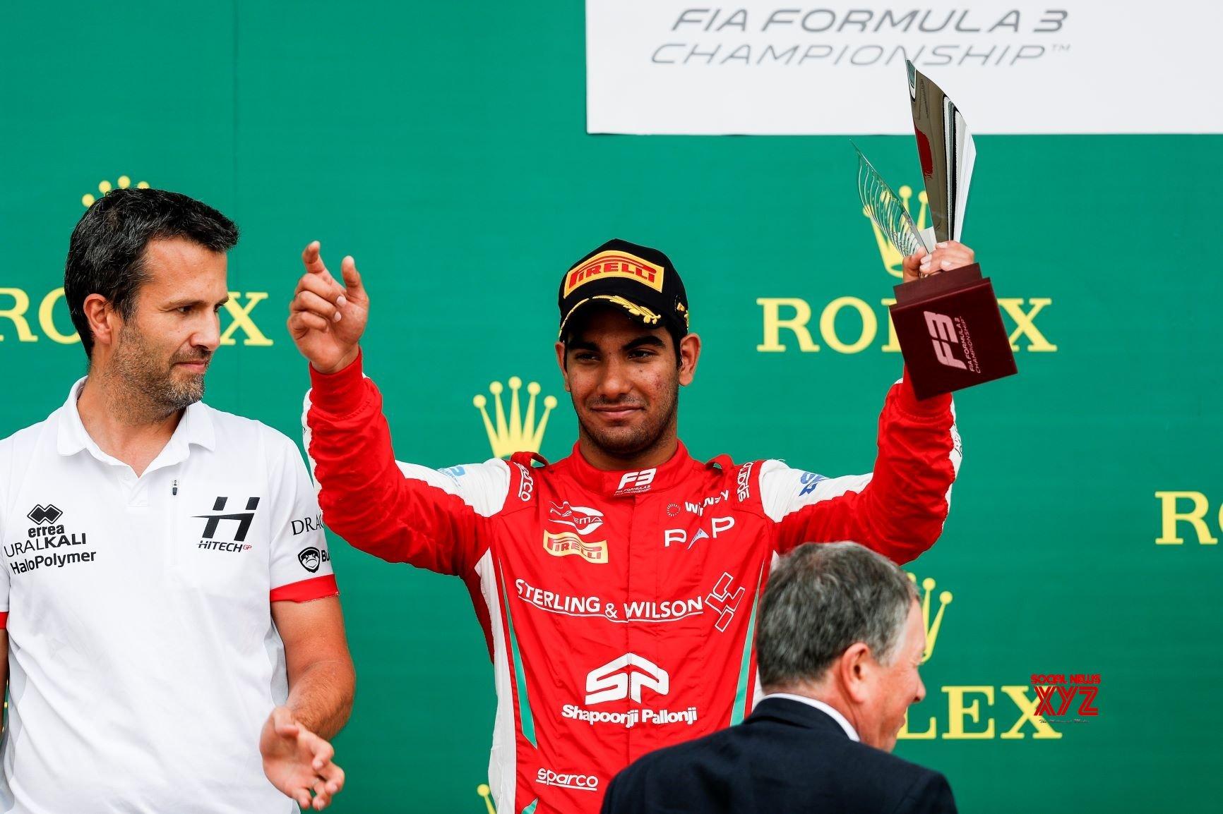 Jehan Daruvala clinches podium in Silverstone