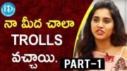 Actress Nabha Natesh Exclusive Interview - Part #1 (Video)
