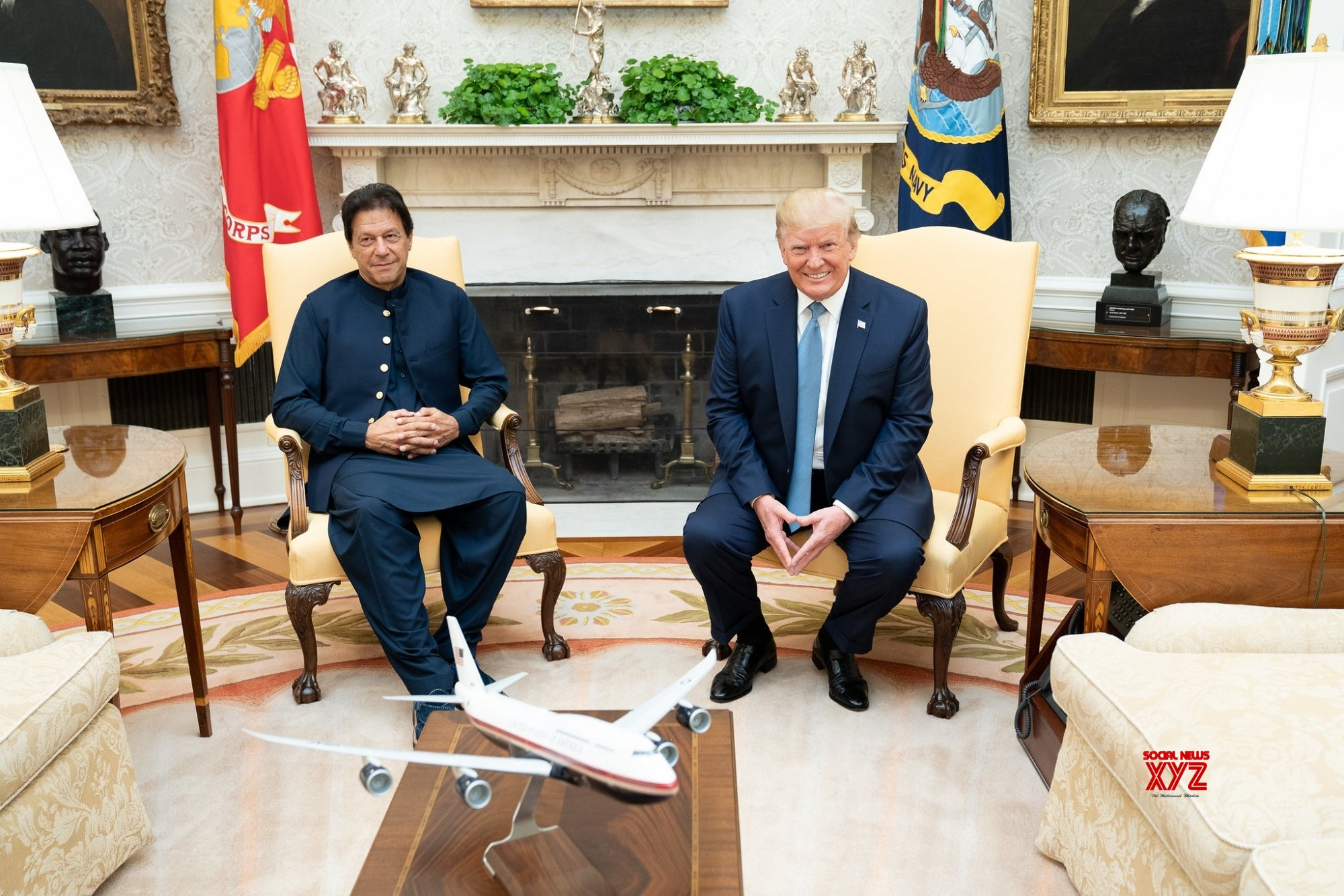 Imran to meet Trump twice during US visit