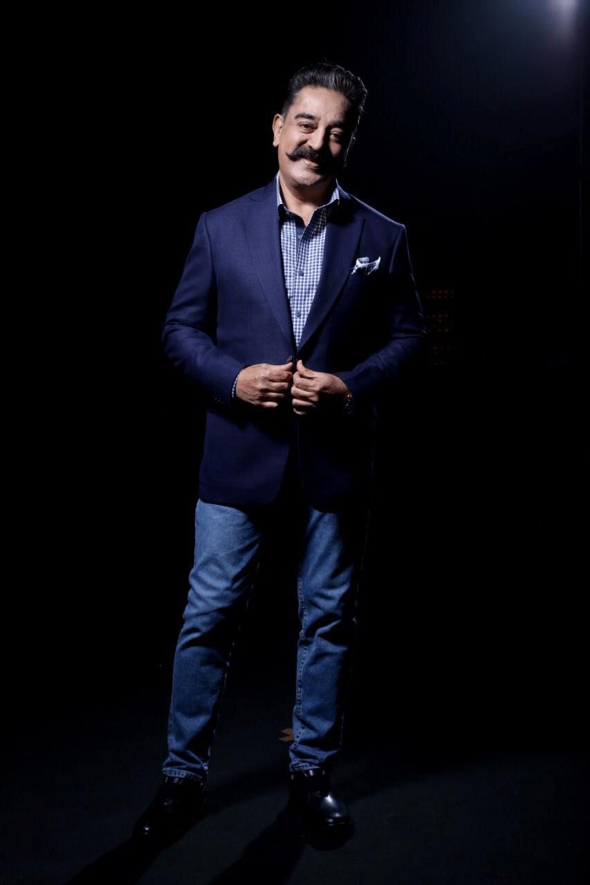 Kamal Haasan Rocking Recent Stills From Bigg Boss Tamil