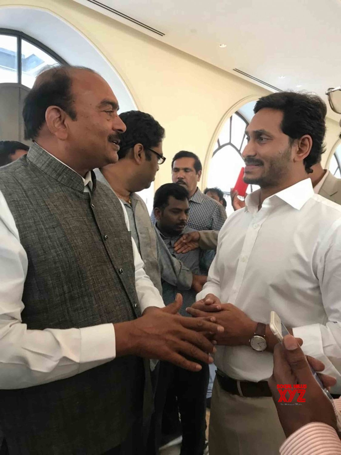 Jerusalem: CREDAI Andhra Pradesh President meets Y  S