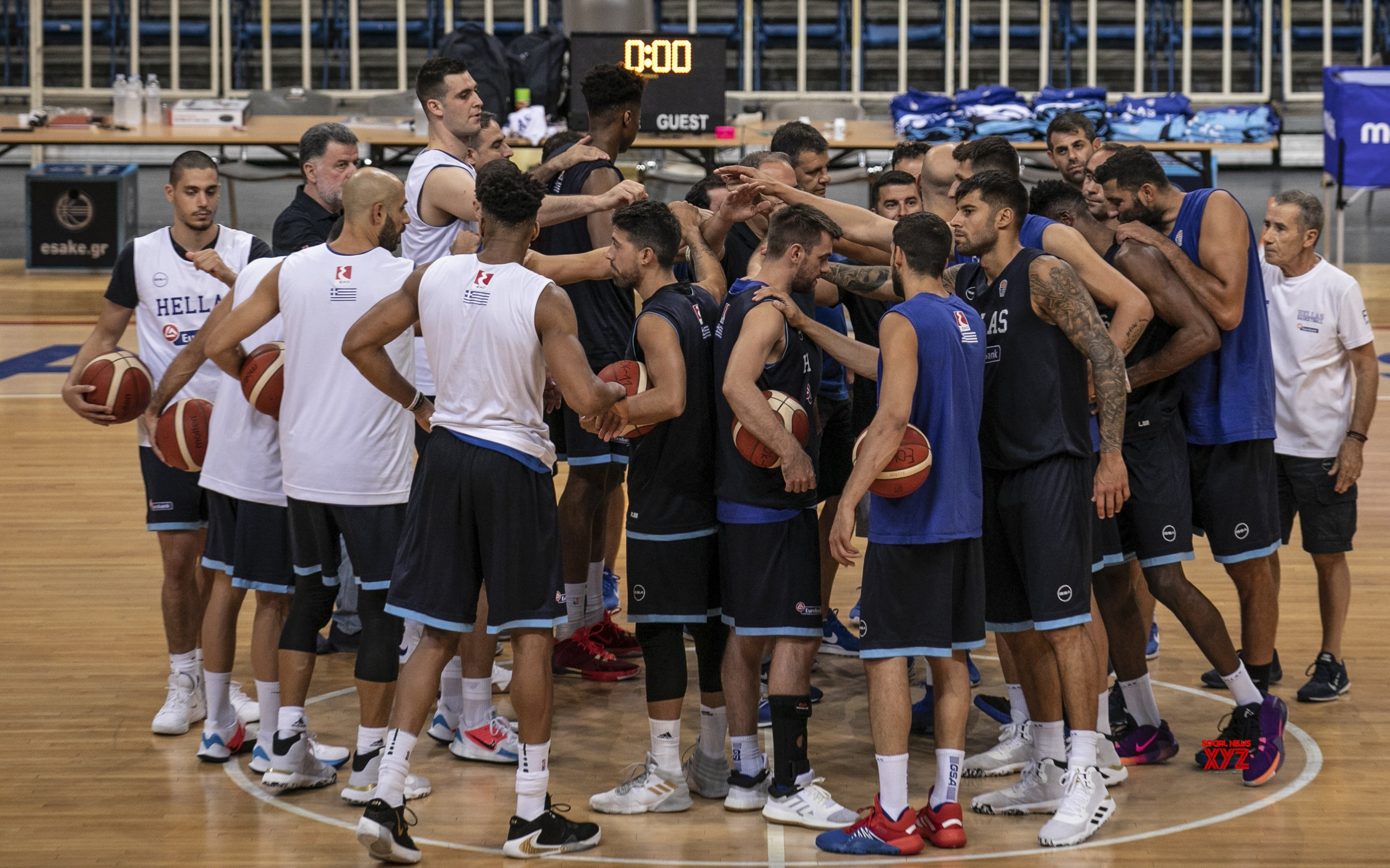 GREECE - ATHENS - GREEK NATIONAL BASKETBALL TEAM - TRAINING SESSION #Gallery