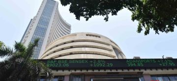 Mumbai: A view of the BSE building in Mumbai, on May 20, 2019. Indian equity indices traded on a firm note on Monday after most exit polls showed a BJP-led NDA getting a comfortable majority in the now concluded general elections. The Sensex advanced over 1,079 points during the afternoon trade hitting an intra-day high of 39,010. The BSE Sensex was trading at 39,008.21 points up 1077.44 points or 2.44 per cent higher. (Photo: IANS)