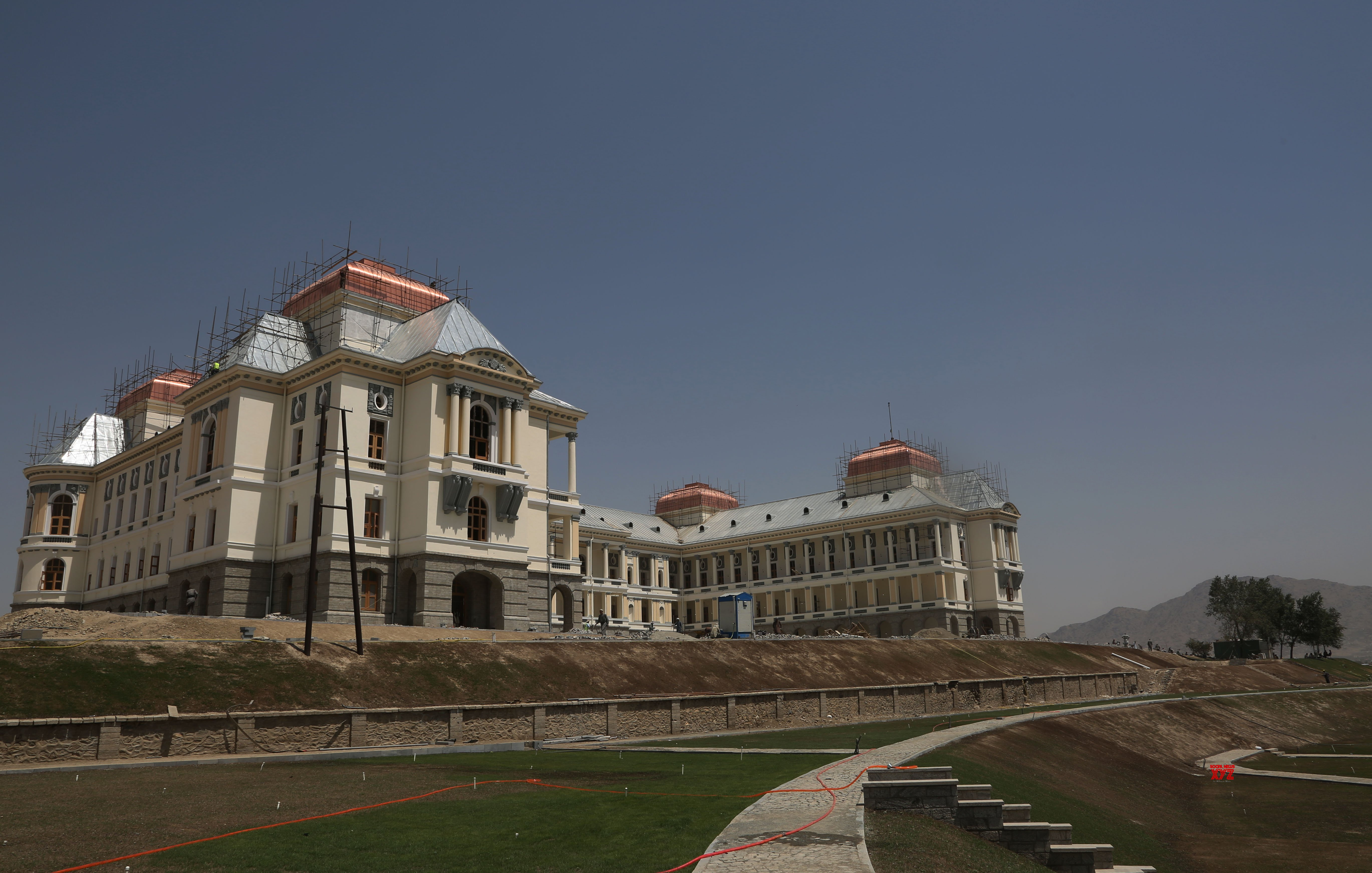 AFGHANISTAN - KABUL - DARUL AMAN PALACE - RECONSTRUCTION #Gallery