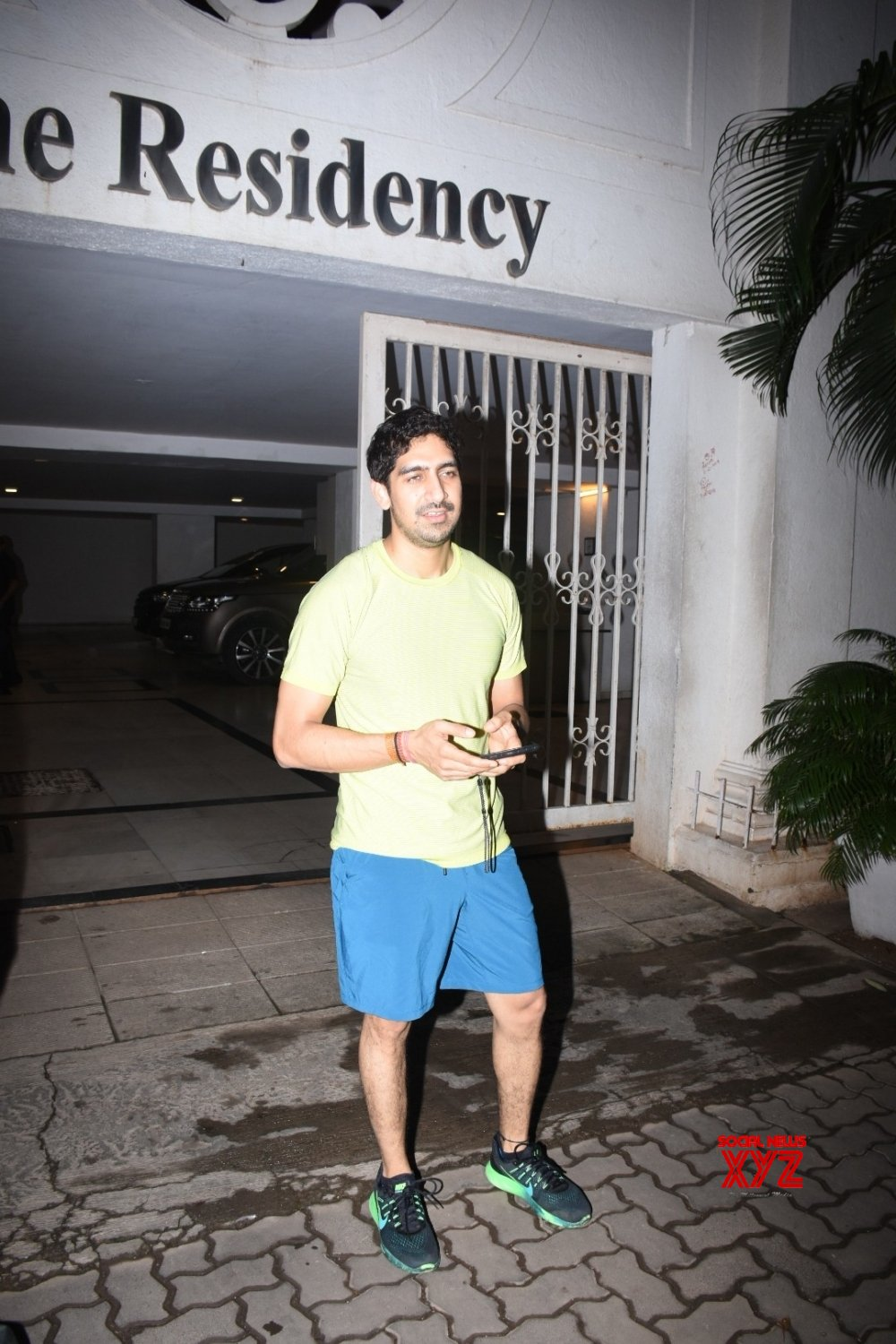 Mumbai: Ayan Mukherji seen outside Karan Johar's house #Gallery