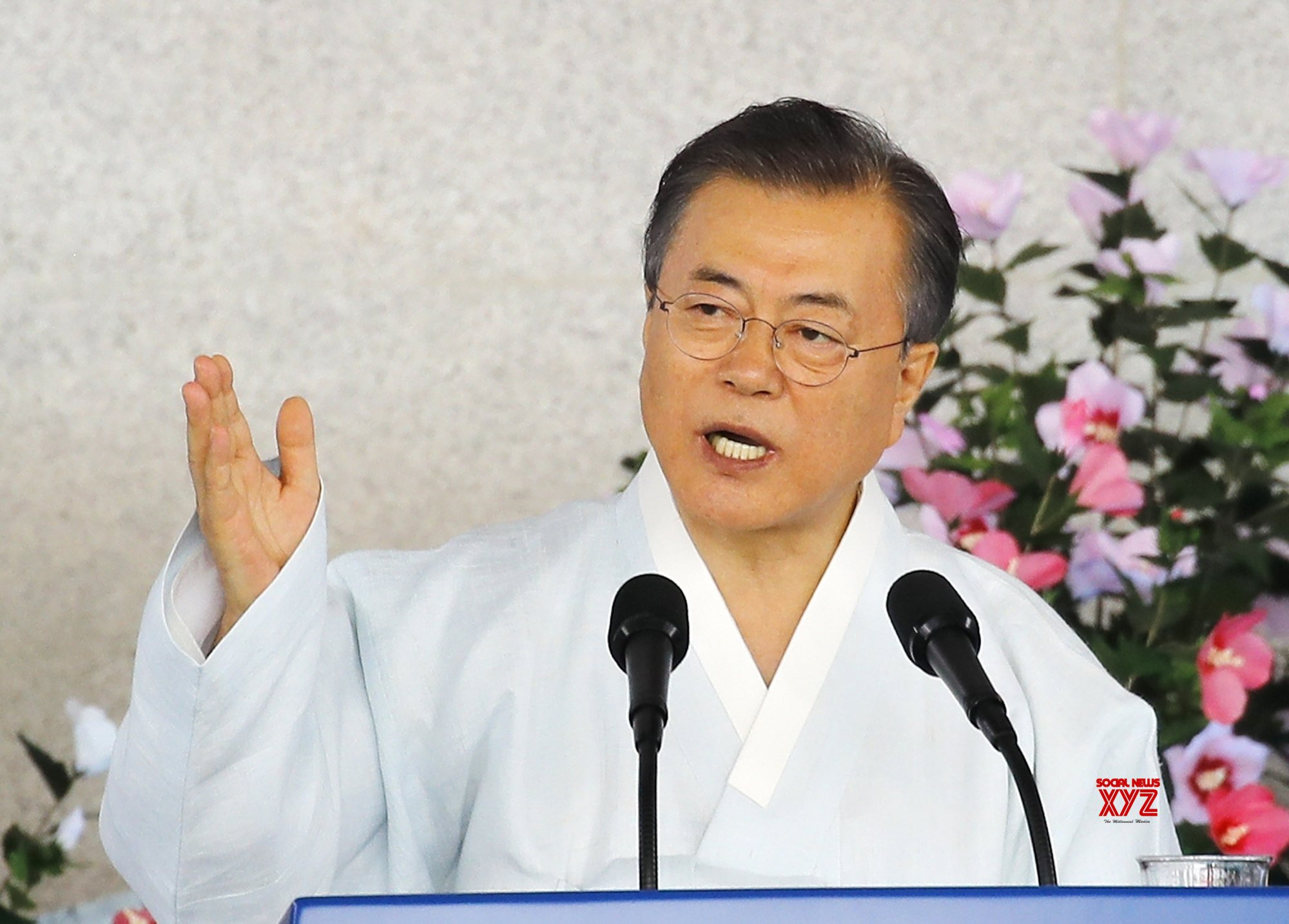 Seoul: Moon delivers Liberation Day speech #Gallery