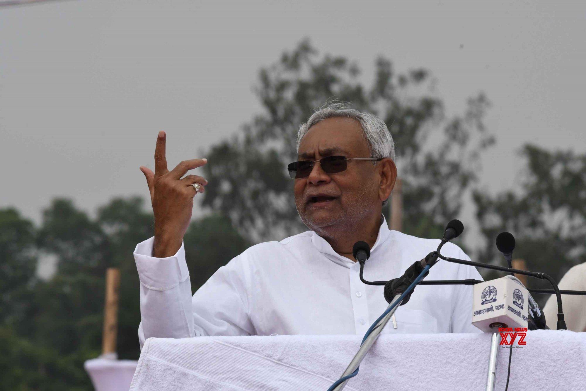 Patna: Independence Day celebrations - Nitish Kumar #Gallery