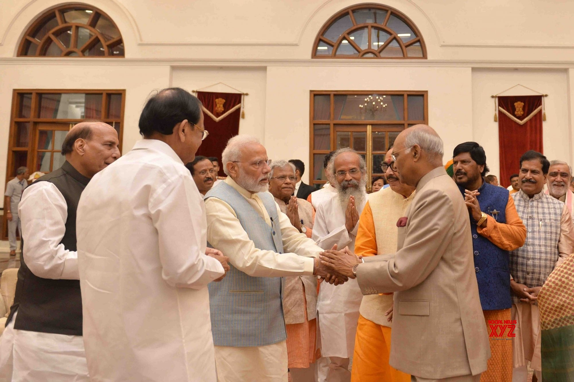 New Delhi: President Kovind hosts 'At Home' on 73rd Independence Day (Batch - 3) #Gallery