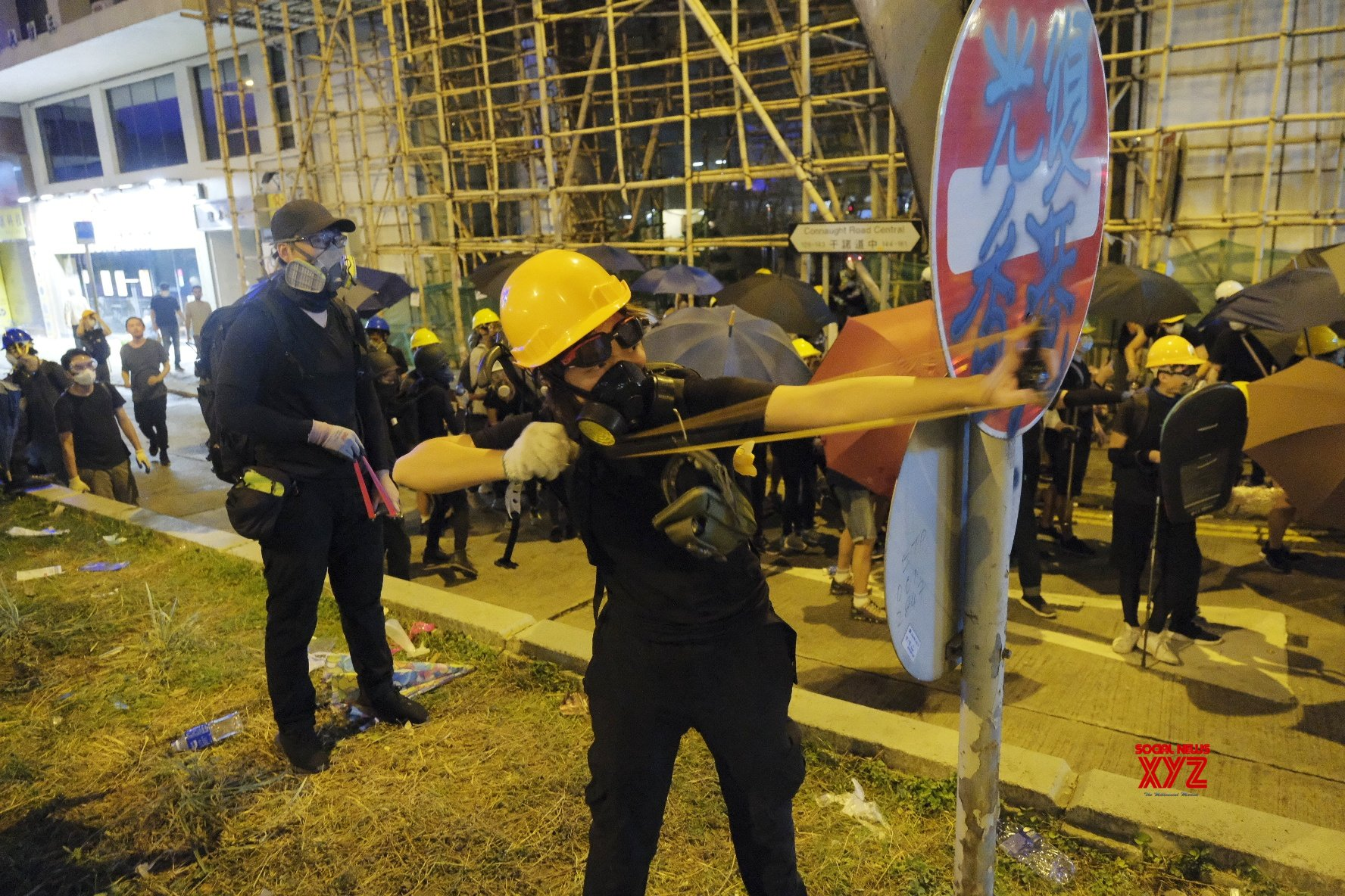 CHINA - HONG KONG - VIOLENCE - SITUATION (CN) #Gallery