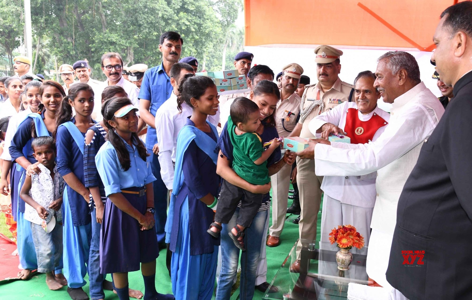 Patna: Bihar Governor during 73rd Independence Day celebrations #Gallery