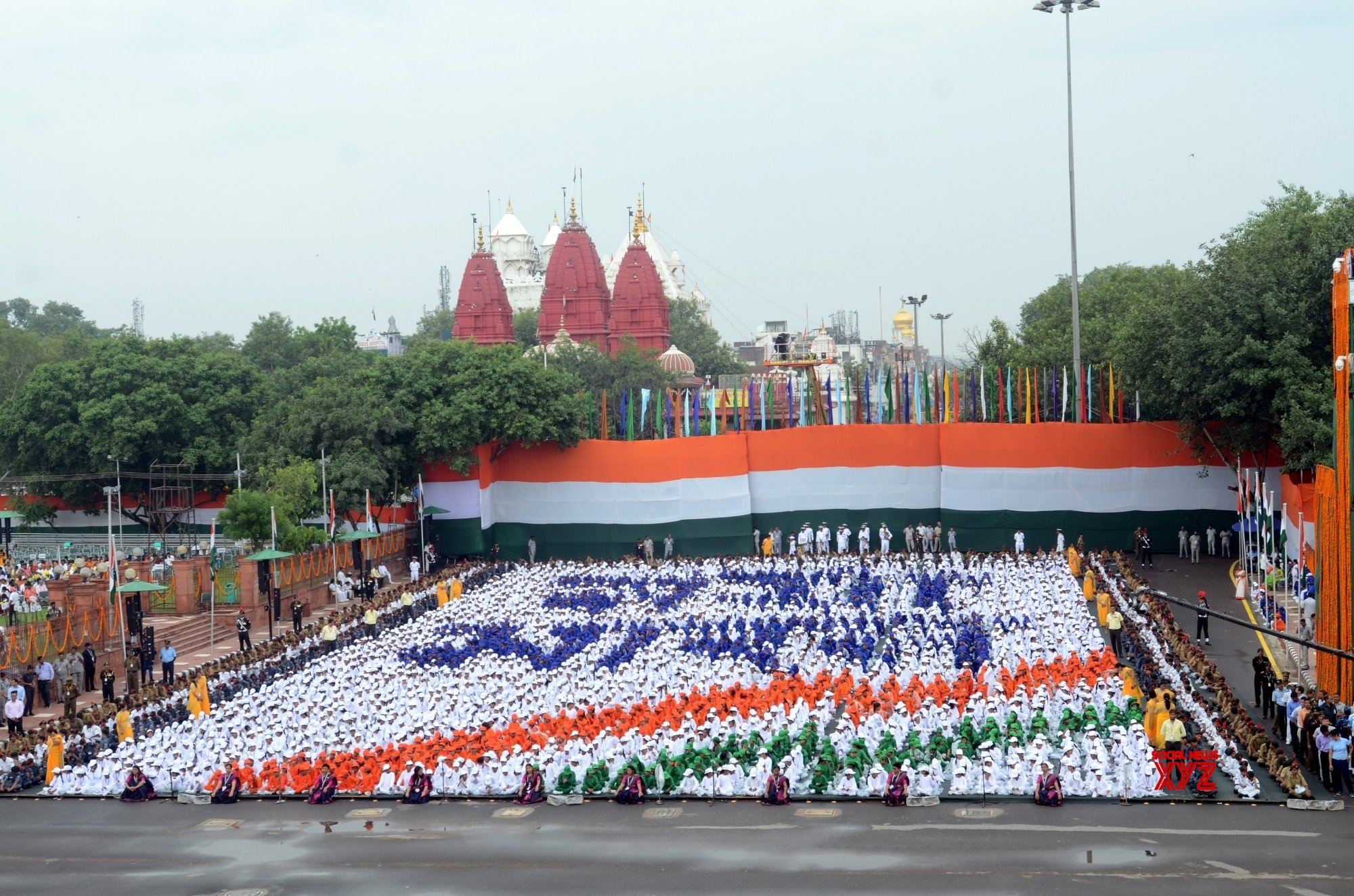 New Delhi: 73rd Independence Day - Prime Minister's address (Batch - 4) #Gallery