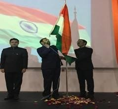 Sao Paulo: Prakash Javadekar during 73rd Independence Day celebrations in Brazil #Gallery