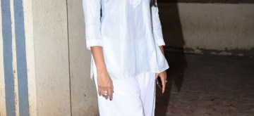 Mumbai: Actress Pooja Hegde seen in Mumbai on Aug 15, 2019. (Photo: IANS)
