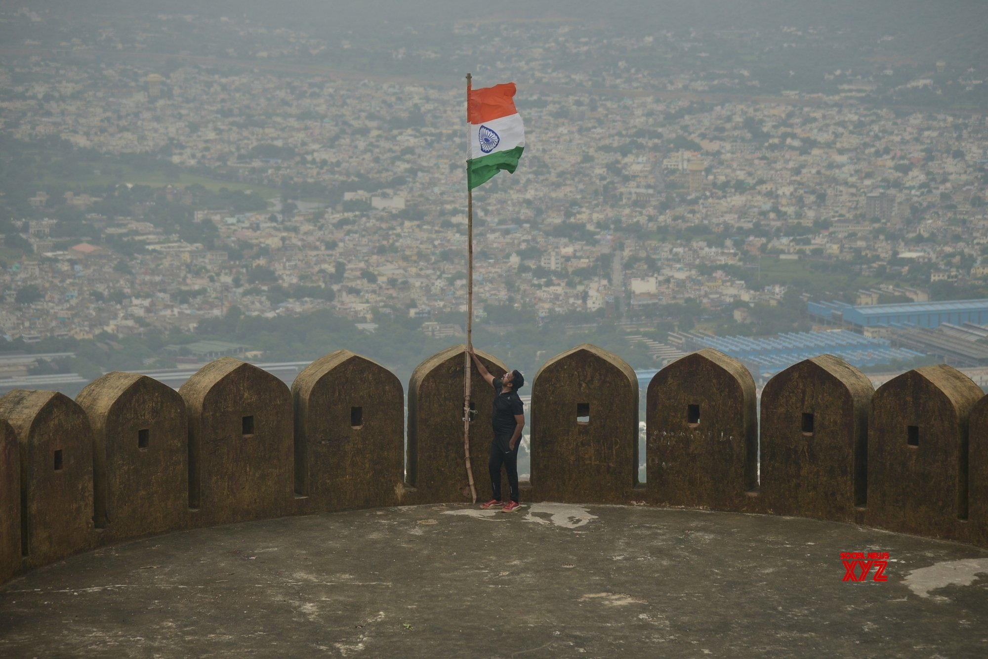 Ajmer: 73rd Independence Day #Gallery