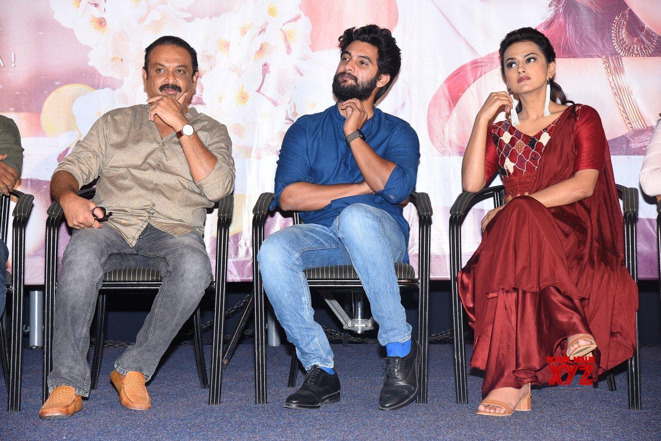 Aadi Saikumar And Shraddha Srinath's Jodi Movie Press Meet Gallery