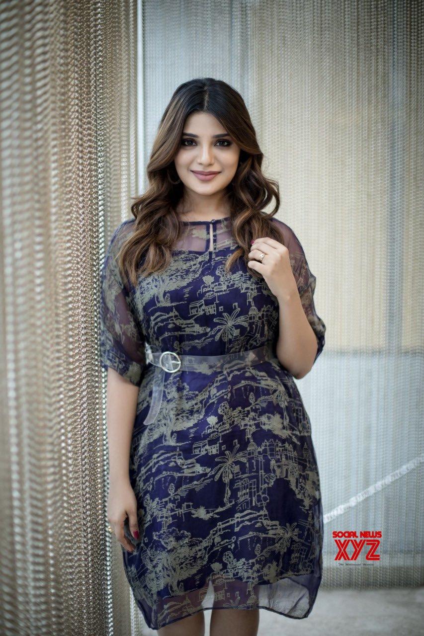 Actress Aathmika Latest Alluring Photo Shoot Stills